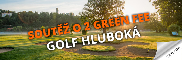 Soutěž o green fee - Golf Hluboká