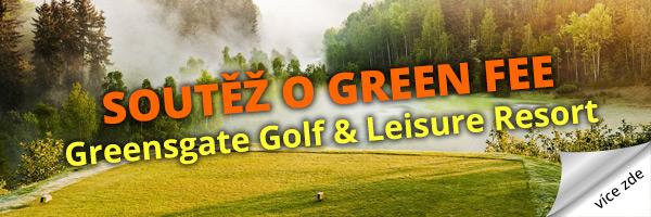 Soutěž o green fee - Greensgate